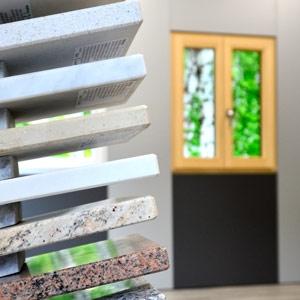 thumb Ausstellungssortiment an Natursteinfensterbänken für die Innen- und Aussenanwendung