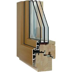 thumb Holz-Aluminium-Fensterquerschnitt