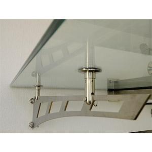 thumb Schwertträger in Edelstahl Ausführung für Glasvordächer